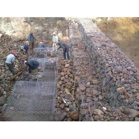 gavin arquitectonico para muros de piedra 2m x 1m x 1m - Muro De Gaviones