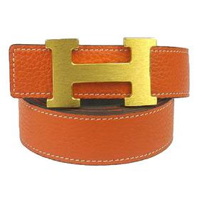 17ae472cc11 Cinto Hermes Collier De Chien - Cintos Laranja no Mercado Livre Brasil