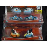 Cars Disney Pixar Dos Dobles 2 Pack Autitos Cars Fans Dinoco