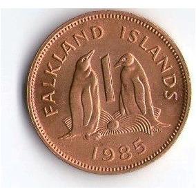 Islas Malvinas Ocupadas Serie 3 Monedas Sin Circular