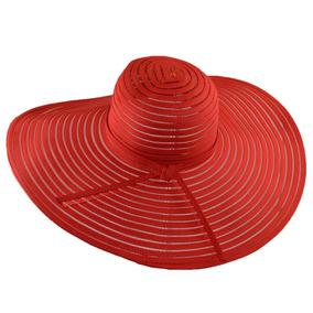 16f47e408bdce Sombrero De Playa Ala Larga Muy Elegante Excelente Calidad