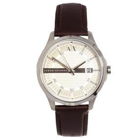 08436ee35ef51 Bon Armani Exchange Ax Em Couro Placa De Metal Em Bh - Relógios no ...