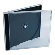 Caja Para Cd Tray Negro X 100 Unidades Nueva Liquidacion