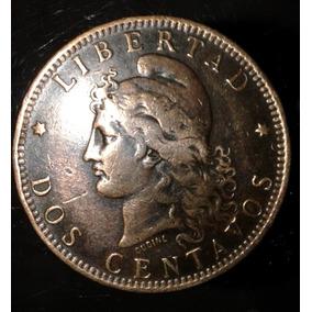 Lote De 9 Monedas Patacones De Cobre 2 Centavos Mas Regalo