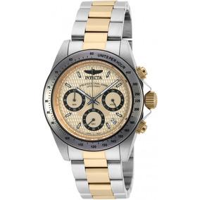 Invicta Hombre 90183 Speedway Reloj Acero Inoxidable Dorado