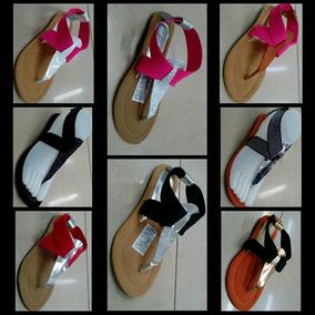 Sandalias Bajitas 3001 Colores Varios Moda Colombiana