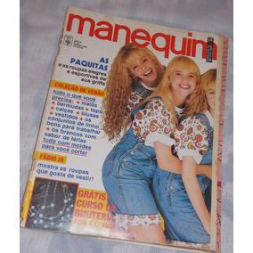 Revista Manequim Com Moldes Nº 373 Jan 91 Paquitas Fabio Jr