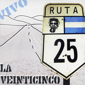 Cd La 25 Vivo Ruta 25 Open Music W-