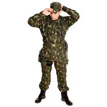 Farda Militar Rip Stop Exército Brasileiro