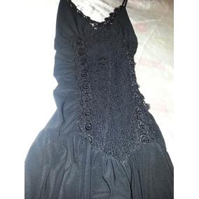 Vestido De Noche, Negro T.1
