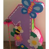 Piñata Entamborada Números,personalizada.piñatas Por Encargo