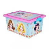 Caja Organizadora Princesas Fiest Infantil Niñas Cuartos Ea