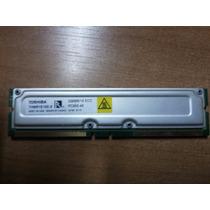 02 Memória Rambus Toshiba 256mb = 512mb + 02 Pentes Cegos