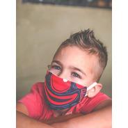Tapaboca Payaso Negro - Niños