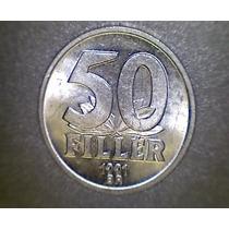Lucas Col Hungria Moneda 50 Filler 1991