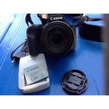 Canon Powershot Sx 530 Correa Cargador Como Nueva