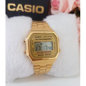 47e5f0eac39 Relogio Feminino Dourado Da Cassio - Relógio Feminino no Mercado ...