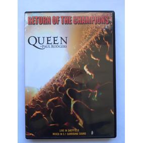 Dvd Queen & Paul Rodgers + Dvd Queen Live At Wembley Duplo