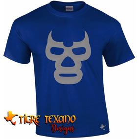 Playera Lucha Libre Blue Demon By Tigre Texano Designs