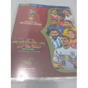 Cards Limitados Adrenalyn Copa Russia 2018- Coleção Completa