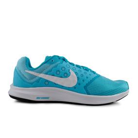 Tenis Nike Downshifter 7 - Azul Con Blanco 852466-401