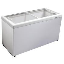 Freezer Horizontal Tampa De Vidro 439l Hf55l 110v -metalfrio