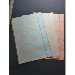 Ingresso Segurança Papel Moeda - 100 Ingressos S/ Impressão