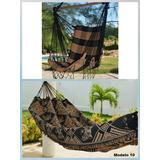 Kit Rede De Dormir Casal Indiana + Rede Cadeira Balanco +bd