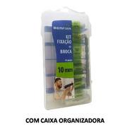 Kit Fixação 44 Peças - Parafusos Buchas E Broca 10mm Bemfixa