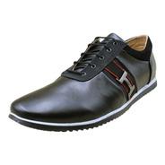 Zapato Casual Oficina Fino Negro Calzado Original Hombre A58