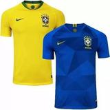Kit 2 Camisa Polo Brasil Brasileira Passeio-treino Frete Grt