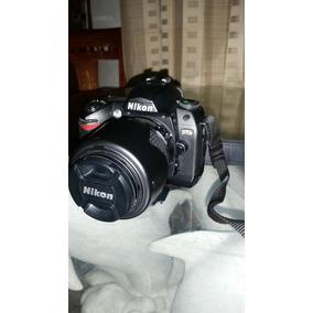 Camara Nikon D70s Con Lente Nikon 55-200mm