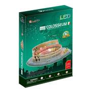 Puzzle 3d Coliseo Romano Con Luces Led  Cubicfun L194h
