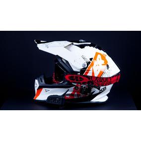 Casco Marca Lazer Para Cross O Hypermotard