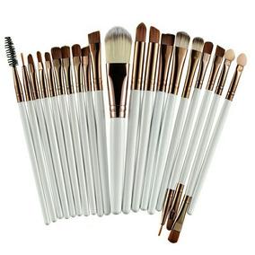 Kit 20 Pincéis Para Maquiagem Profissional Frete Grátis Br