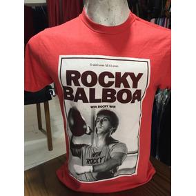 Remera Rocky Ii Win Rocky Win Algodon Premium Varios Colores
