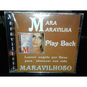 Cd Mara Maravilha - Maravilhoso Play Back Lacrado De Fábrica