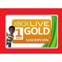Xbox Live Gold Brasil Br De 1 Meses Somente Para Xbox 360