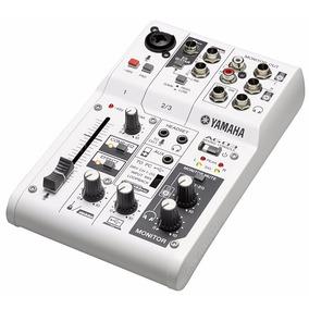 Mesa Analógica/interface Yamaha Ag03 Usb 3 Canais