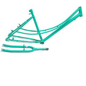 Quadro Bike Aro 26 Retrôtipo Caloi Ceci Antiga + Acessórios