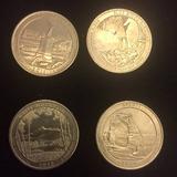 Lote De 4 Quarter Conmemorativos Usa