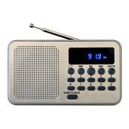 Radio Am/fm Con Batería Recargable Kpr-364 Portatil Pequeña