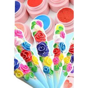 Gel Uv Solido (plastilina 3d)uñas Esculpidas Y Gel Para Deco