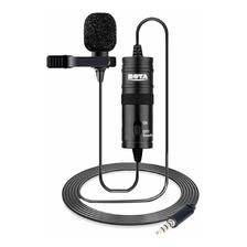 Microfone Com Acessórios Boya By-m1 Condensador Preto
