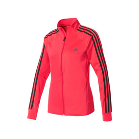 Chamarra adidas Fitness D2m Mujer- Rosa