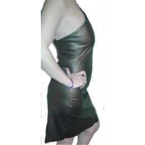 Vestidos Noche Color Bronce Al Cuerpo Rosh Tela Tipo Cuerina
