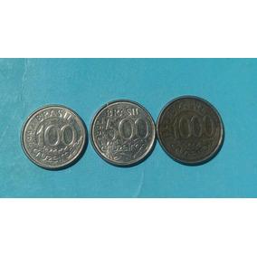 Tres Moedas De Coleçao . Cruzeiros 1992