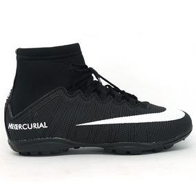 Chuteira Nike Mercurial Cana Alto Cristiano Ronaldo Infantil ... d5463b55d7dc9