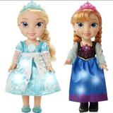 Frozen Elsa Y Anna Hermanas Que Cantan Vestido Magico
