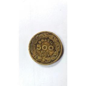 Moeda Antiga De 500 Reis De 1939